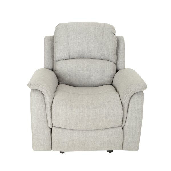 GroveHill Traditional Manual Glider Recliner by Latitude Run