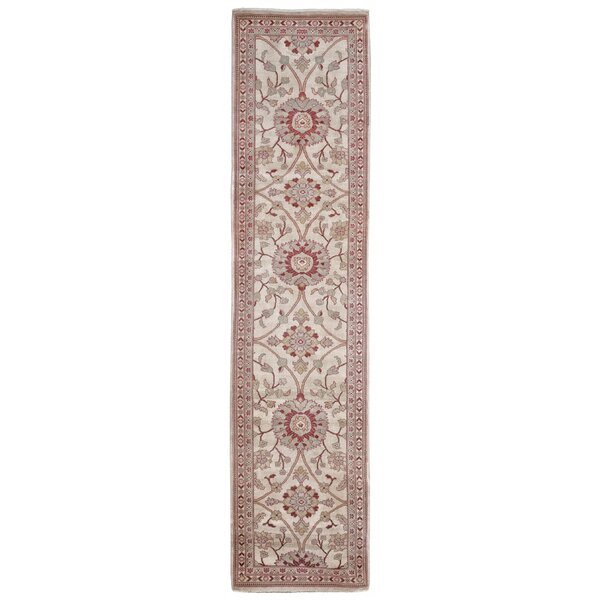Laci Ushak Hand-Knotted Wool Red Area Rug