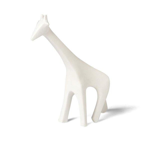 Giraffe White Figurine by DwellStudio