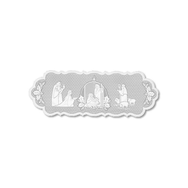 Silent Night Table Runner by Heritage Lace