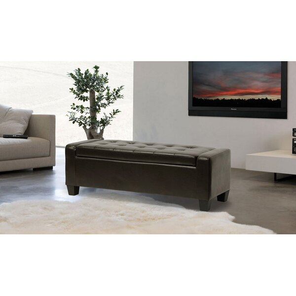 Baltierra Faux Leather Bench By Charlton Home