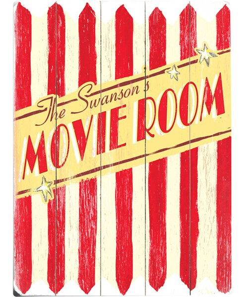 Personalized Popcorn Vintage Advertisement Multi-Piece Image on Wood by Artehouse LLC