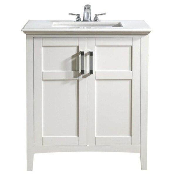 Winston 31 Single Bathroom Vanity Set by Simpli Home