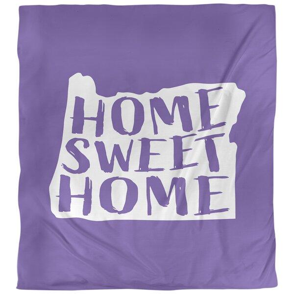 Home Sweet Oregon Single Duvet Cover