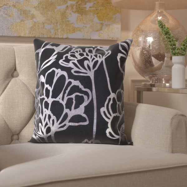 Trilby Blosom Indoor/Outdoor Throw Pillow by House of Hampton