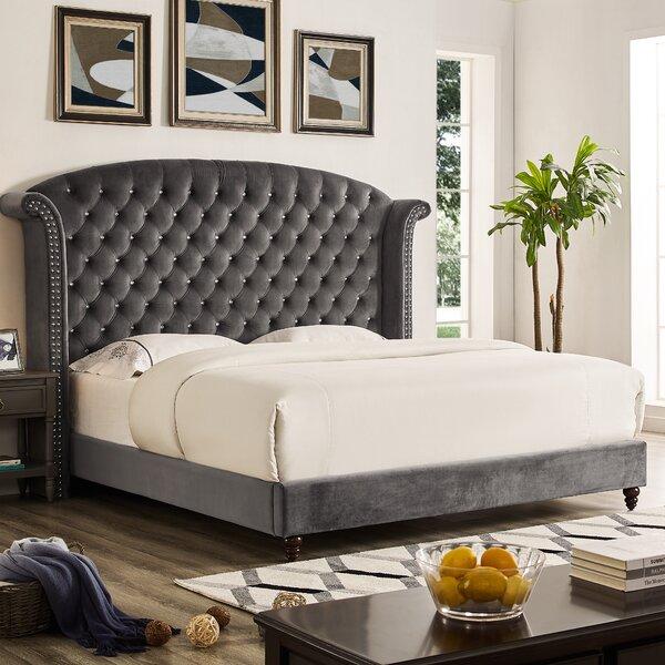Best Design Saige Upholstered Platform Bed By Rosdorf Park Herry Up