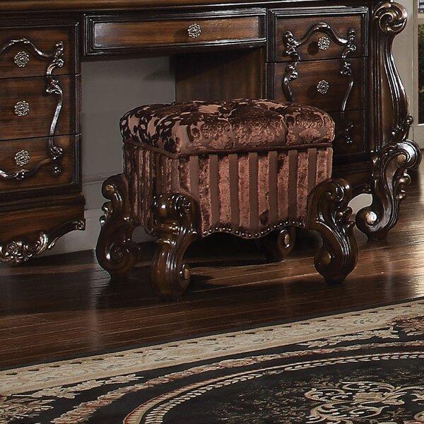 Welton Vanity Stool by Astoria Grand