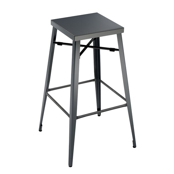 Amias Industrial 30 Bar Stool (Set of 2) by 17 Stories