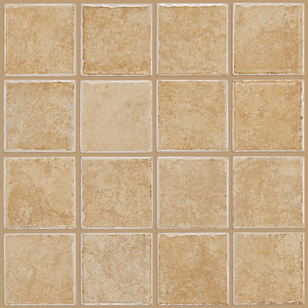 Fenton 3 x 3 Ceramic Mosaic Tile in Stratton by Shaw Floors