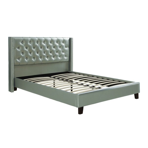 Desideria Upholstered Standard Bed by House of Hampton