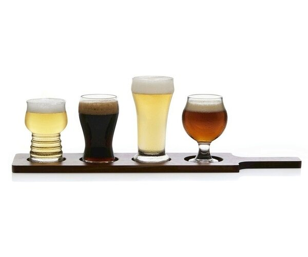 Craft Brews 5 Piece Glass Assorted Glassware Set by Libbey