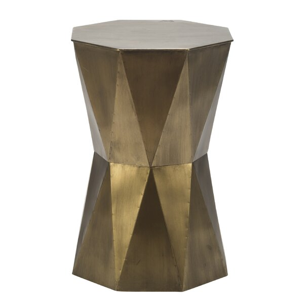 Rylan Geometric End Table by George Oliver