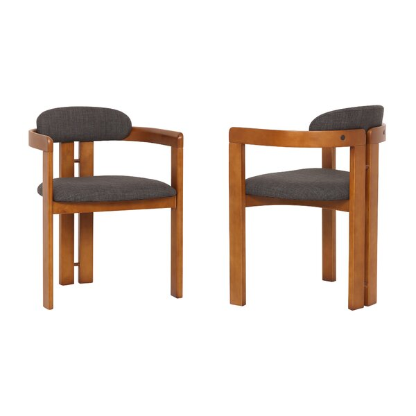 Emmie Upholstered Dining Chair (Set of 2) by Ivy Bronx