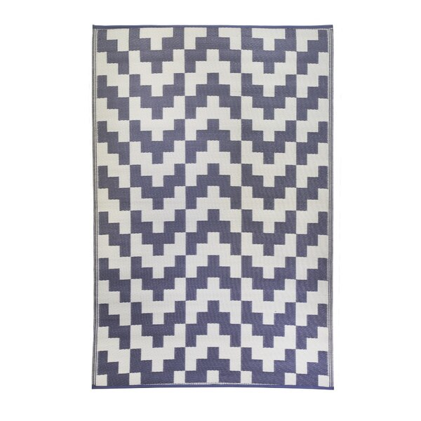 Premier Home Hand-Woven Gray/White Indoor/Outdoor Area Rug by Fox Hill Trading