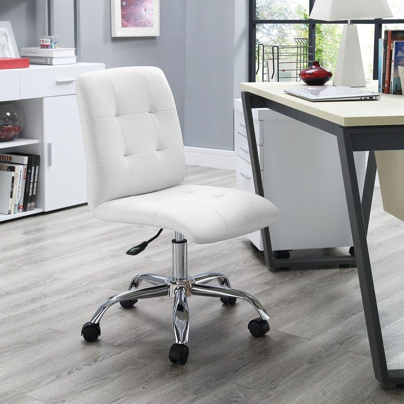 Zipcode Design Liza Mid Back Desk Chair Reviews Wayfair