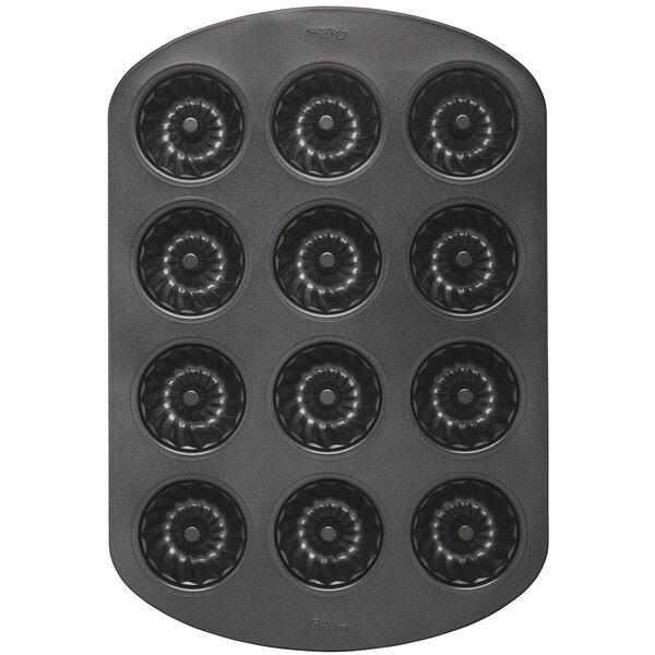 Classic Non-Stick 12 Cavity Mini Muffin Pan by Wilton