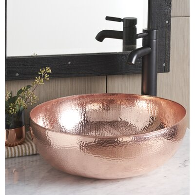 Circula Sink Metal Polished Copper photo