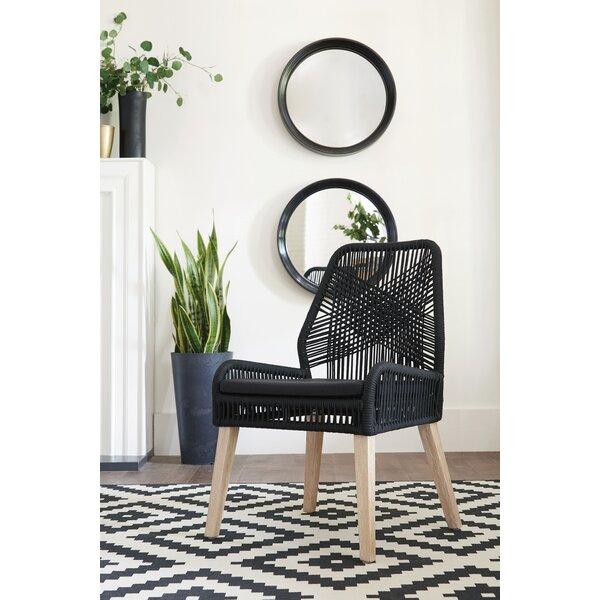 Abeyta Side Chair in Black (Set of 2) by Bayou Breeze Bayou Breeze