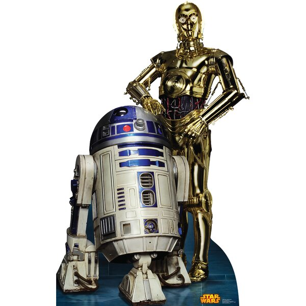 Star Wars R2D2 and C3PO Cardboard Standup by Advanced Graphics