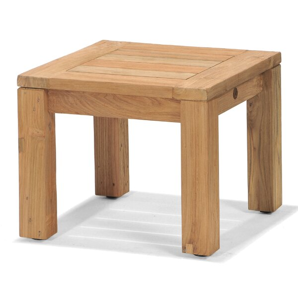 Lancaster Teak Side Table by Forever Patio