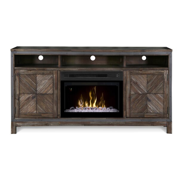 Wyatt 64 TV Stand with Fireplace by Dimplex