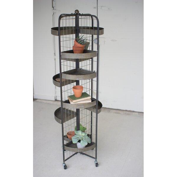 4 Sided Book Cart by Kalalou