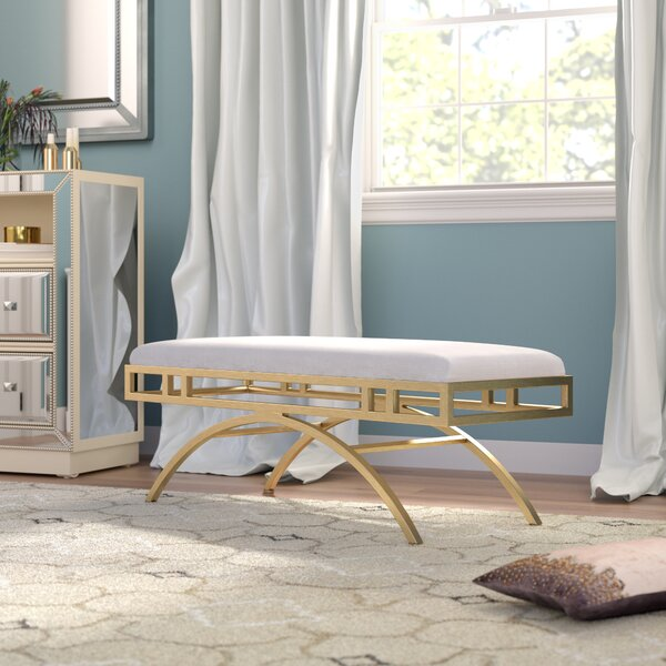 Ritenour Metal Bench by Willa Arlo Interiors Willa Arlo Interiors