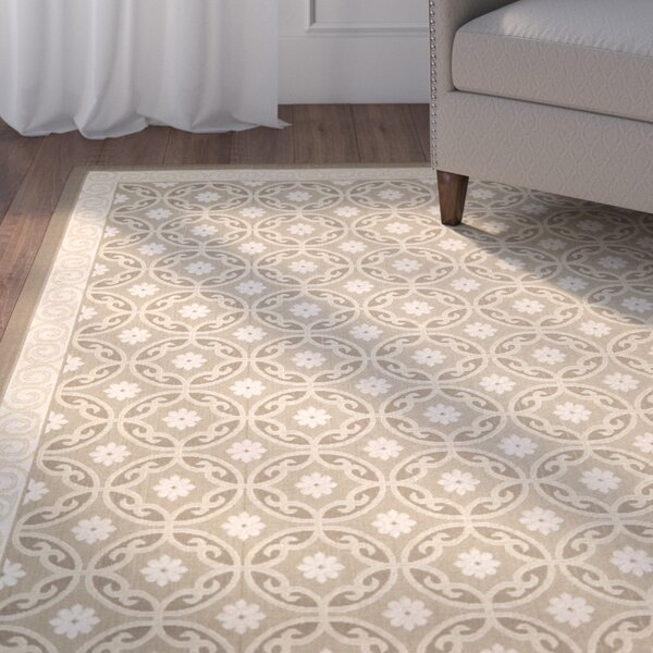 Herefordshire Beige/Cream Indoor/Outdoor Area Rug by Winston Porter