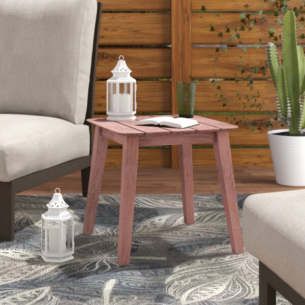 Danya Solid Wood Side Table By Bungalow Rose by Bungalow Rose 2020 Sale