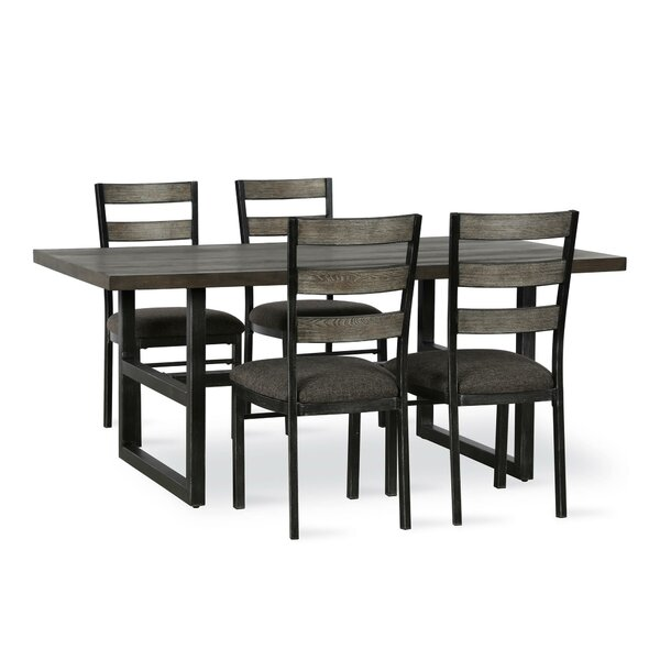 Comstock 5 Piece Dining Set by Union Rustic