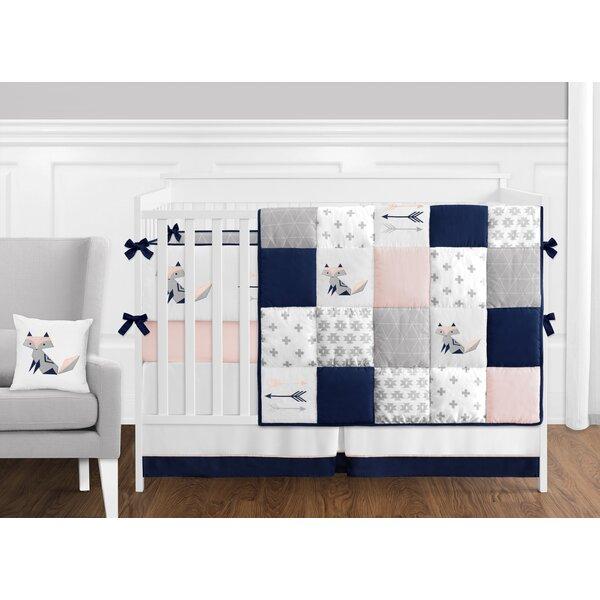 Fox Patch 9 Piece Crib Bedding Set by Sweet Jojo Designs