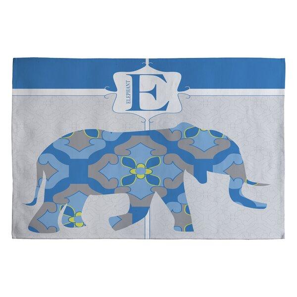 Jennifer Hill Mister Elephant Kids Rug by Deny Designs