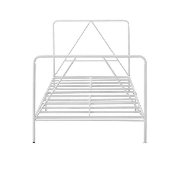 Nunlist Steel Twin Standard Bed by Ebern Designs