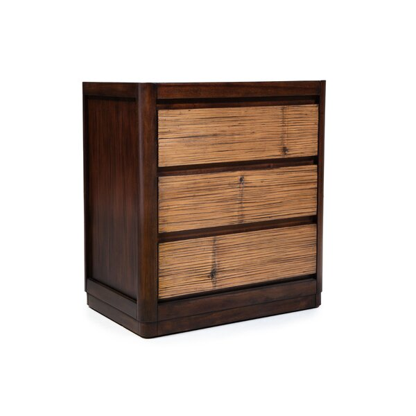 Anders 3 Drawer Nightstand by Bay Isle Home