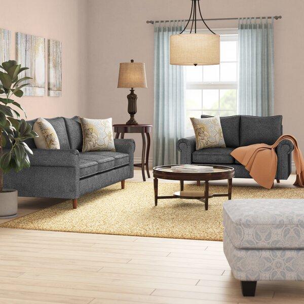 Omar 2 Piece Living Room Set by Charlton Home