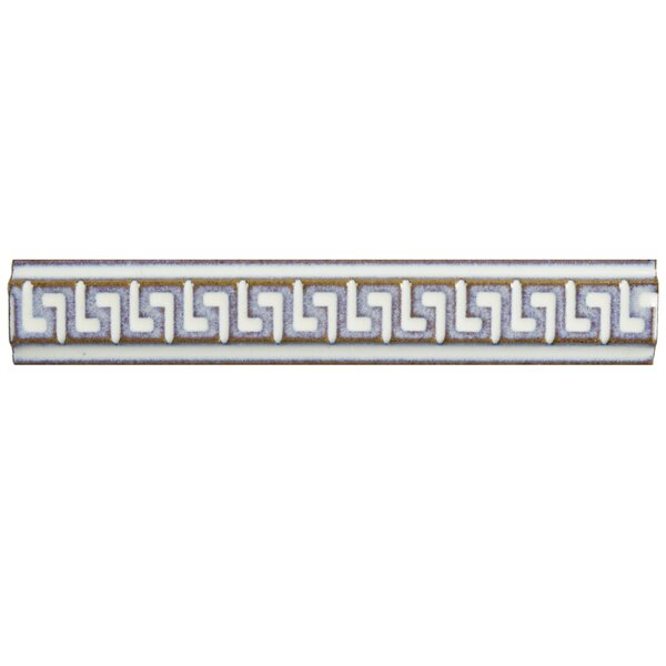 Essentia 1 x 5.88 Listello Trim Tile in Ivory (Set of 6) by EliteTile