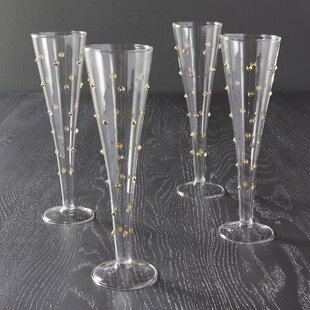 Gatsby Champagne Flute (Set Of 4)