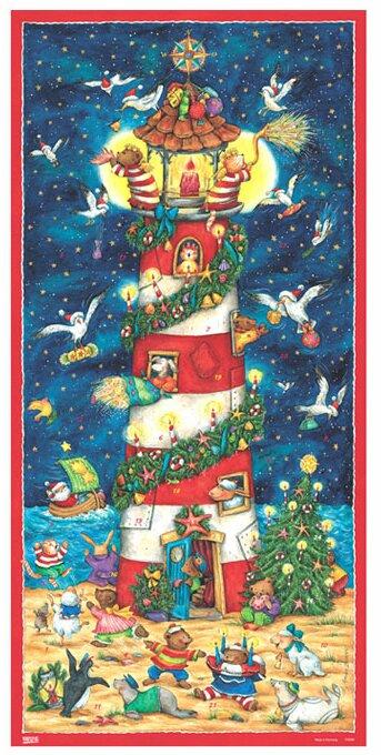 Alexander Taron Lighthouse Advent Calendar Wayfair