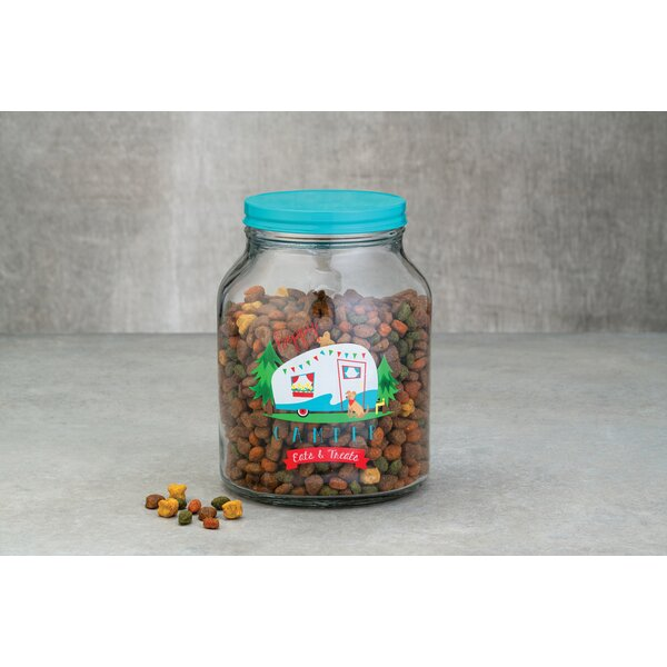 Camper 3 qt. Pet Treat Jar by Millwood Pines