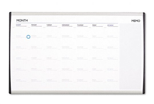 Magnetic Wall Mounted Calendar Board by Quartet®