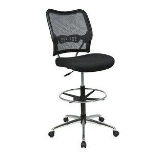 Pascarella Mid-Back Mesh Drafting Chair