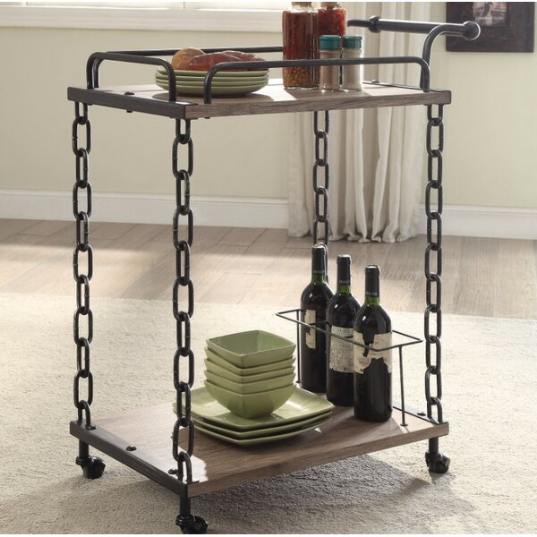 Melgar Serving Bar Cart by Williston Forge