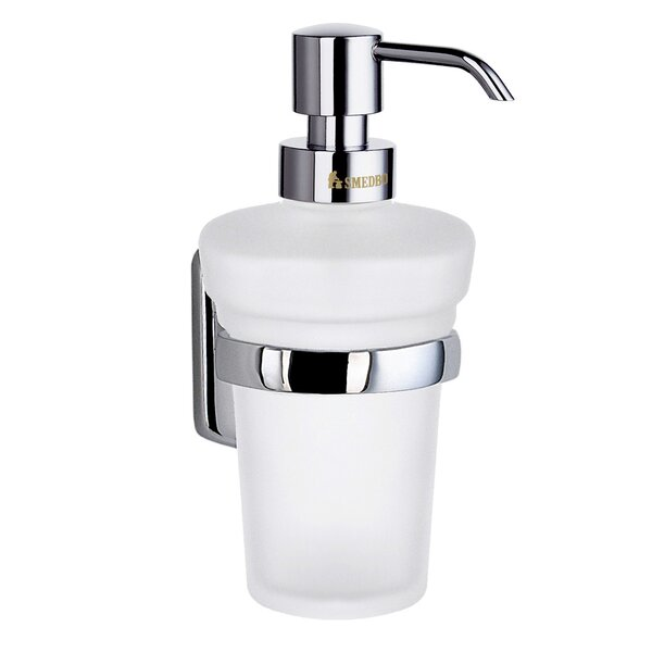 Cabin Wall Mount Soap Dispenser by Smedbo