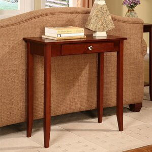Winston Porter Cardiff Rosewood Console Table
