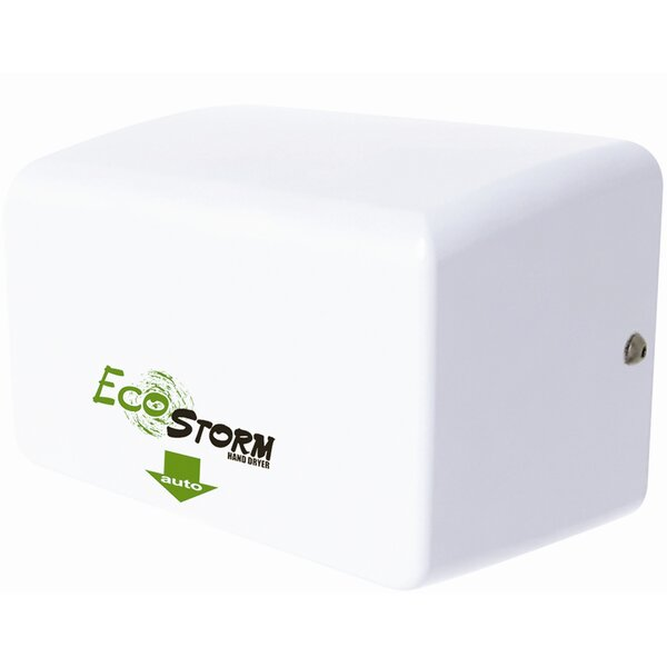 EcoStorm Touchless High Speed 110/120 Volt Hand Dryer in White by Palmer Fixture