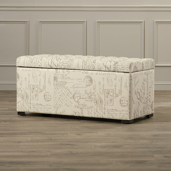 Ander Upholstered Storage Bench by Charlton Home