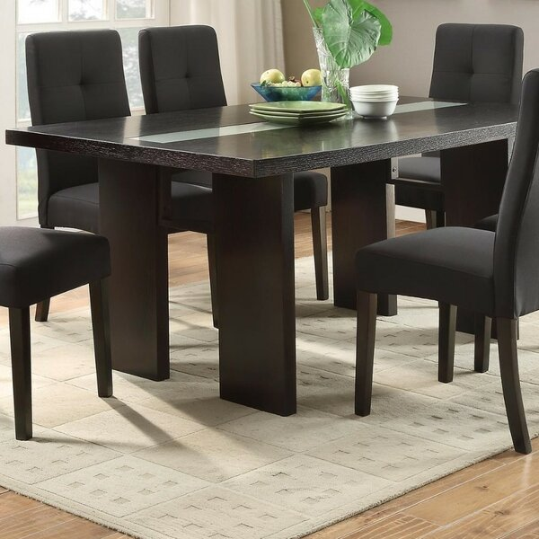 Iseminger Wooden Dining Table by Winston Porter