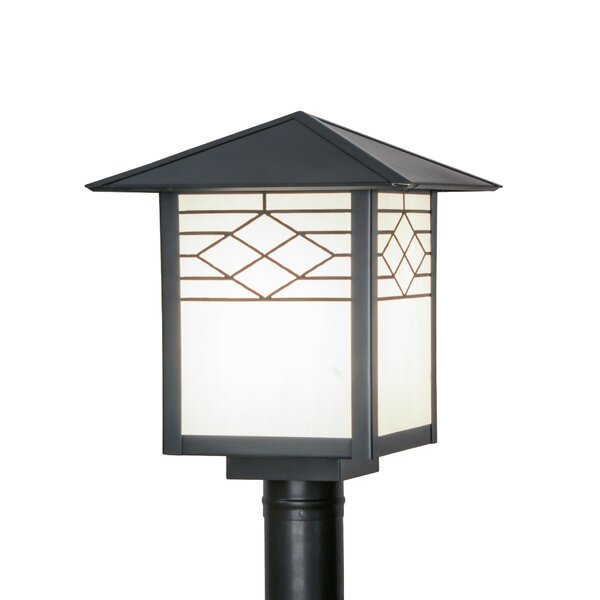 Alper 1-Light 15 Post Light by Bloomsbury Market