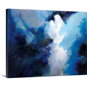 Gathering Storm Clouds Painting Print on Wrapped Canvas by Great Big Canvas