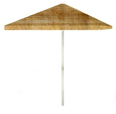 6' Rectangular Market Umbrella by Best of Times Best of Times
